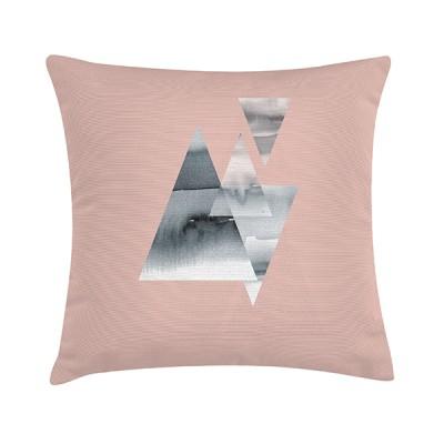 "TAK Design Sierkussen ""Dust Rhubarb Custard"" 45 x 45 cm - Roze"